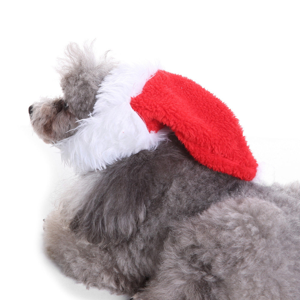 Dog Clothes For Small Dogs Pet Products Clothing Cool Cute Bearded Christmas Hat Pet Cat Dog Christmas Decorations