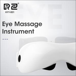 Image 1 - DZYTE Smart Eye Massagerไร้สายElectric Eye Massager Airการบีบอัดการสั่นสะเทือนแม่เหล็กอุ่นแว่นตาAnti Wrinkle Eye Care