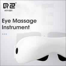 DZYTE masajeador eléctrico para ojos inteligente, masajeador eléctrico para ojos, vibración de aire, gafas calentadas magnéticas, antiarrugas, cuidado de los ojos