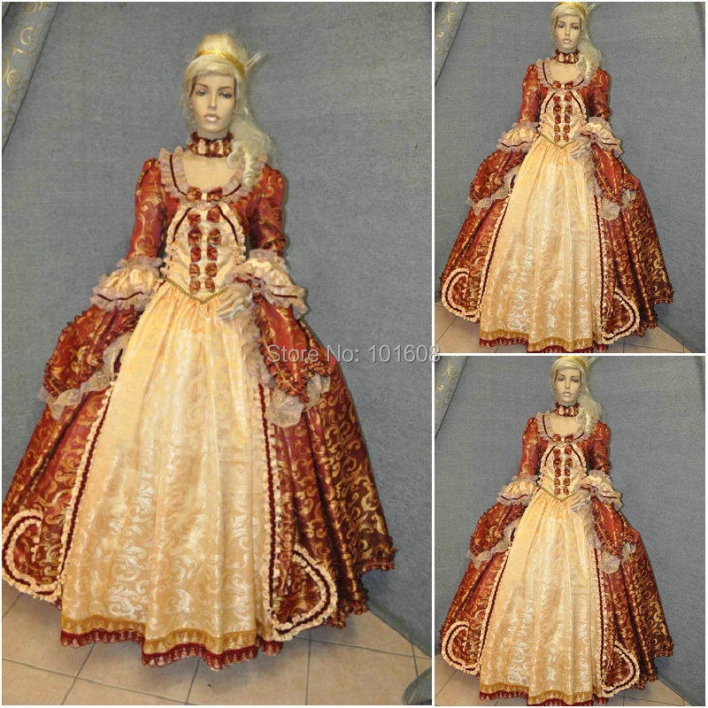 Hot sale! Customer made Grey Vintage Costumes Victorian Dresses ...