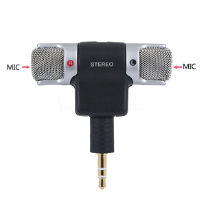 Image 3 - kebidu 2017 Hot  Electret Condenser Stereo Clear Voice mini Microphone for PC for Universal Computer Laptop phone