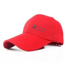 Cotton Hats Baseball-Caps Snapback Spring Women Men Brand Letter for 22 Extended-Eaves-Letter