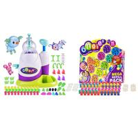 Colorful Cheerful DIY Plastic Fun Balloon Inflator Assemble Inflating Machine for Boys Girls Assembled Bobo Sticky Toy