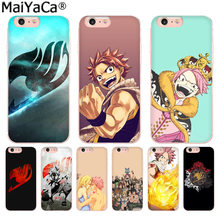 MaiYaCa Anime Manga Fairy Tail Colorato Accessori Del Telefono per il Caso di iphone 11 pro 8 7 66S Plus X 10 5S SE XS XR XS MAX(China)
