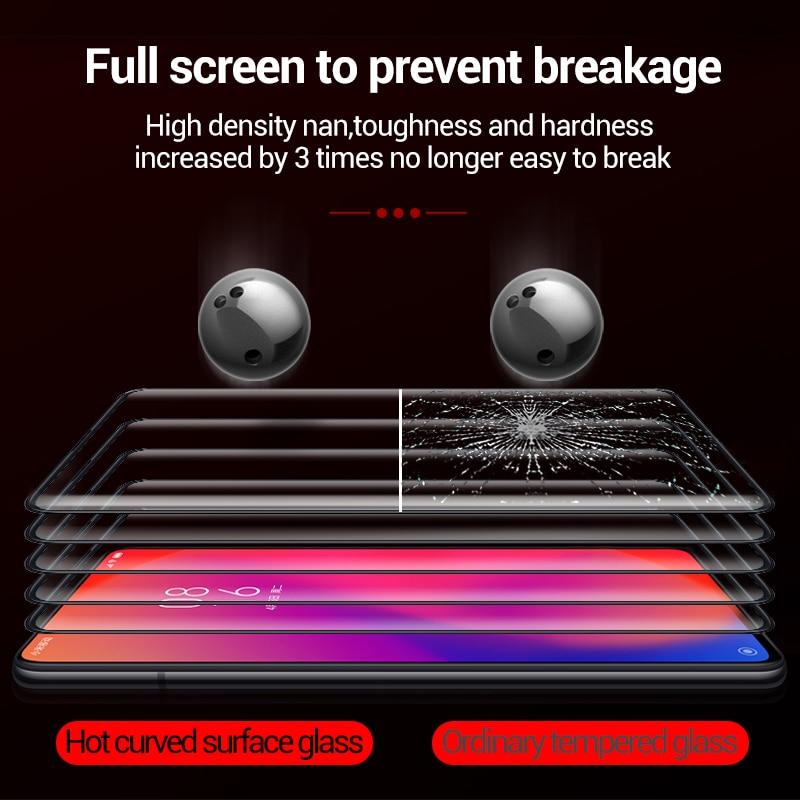 Cafele Kaca Tempered untuk redmi k20 pro xiaomi 9 t pro HD Jelas - Aksesori dan suku cadang ponsel - Foto 3