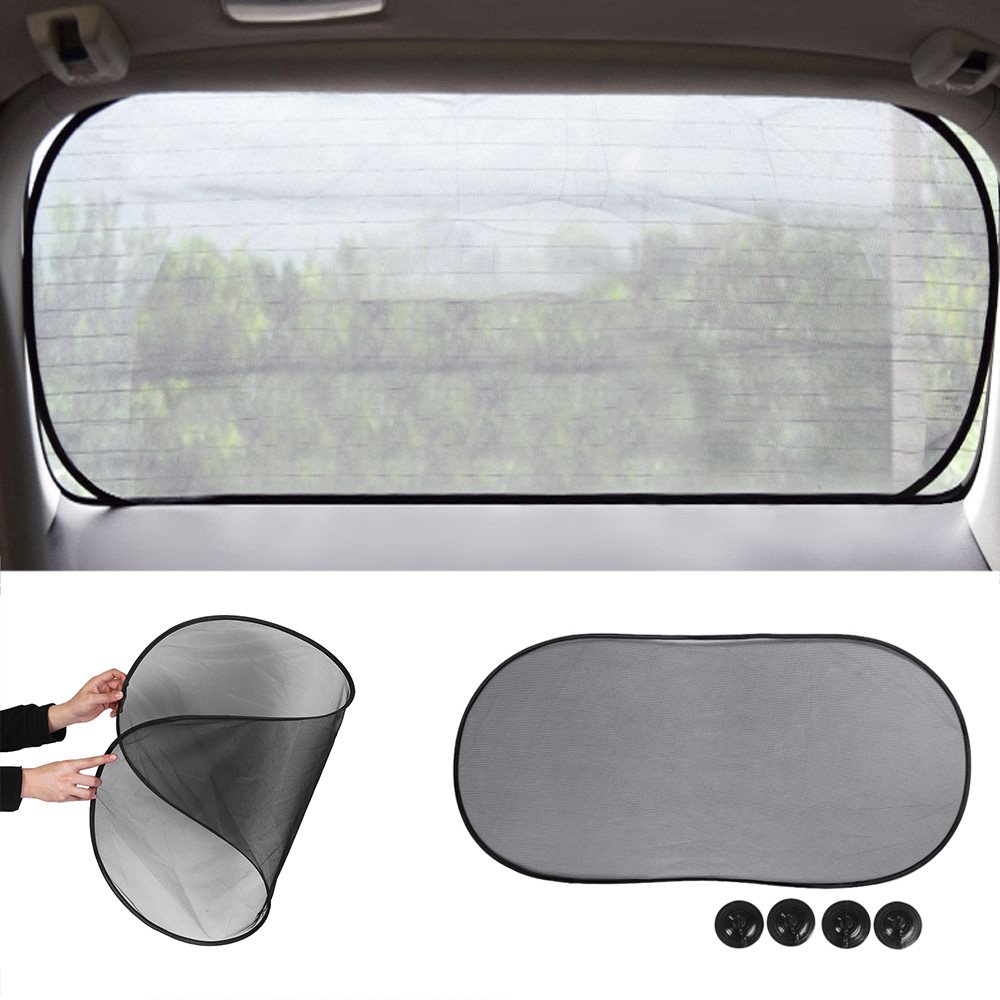 Dsj 6pcs Silver Car Sun Shade Front Window Blind Screen Shield 1954 Chevy Rear For Blinds 100cm50cm Black Side Mesh Visor Sunshade