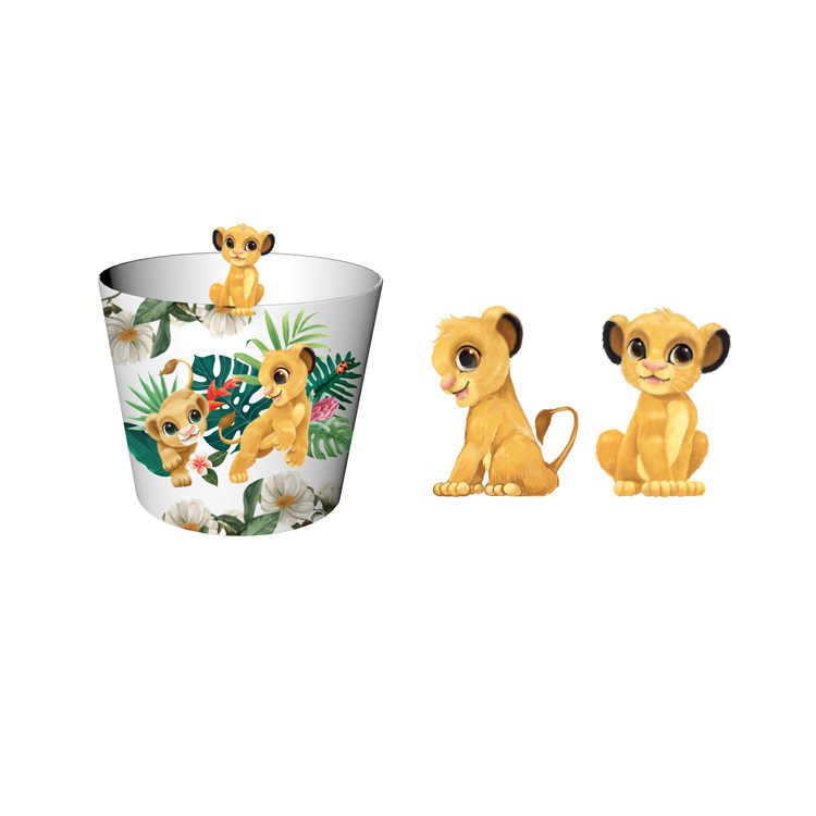 2019 Genuine Disney The Lion King Figure Cup Toys Anime Movie The Lion King Popcorn Barrel Gift Toys For Children Funs Action Toy Figures Aliexpress