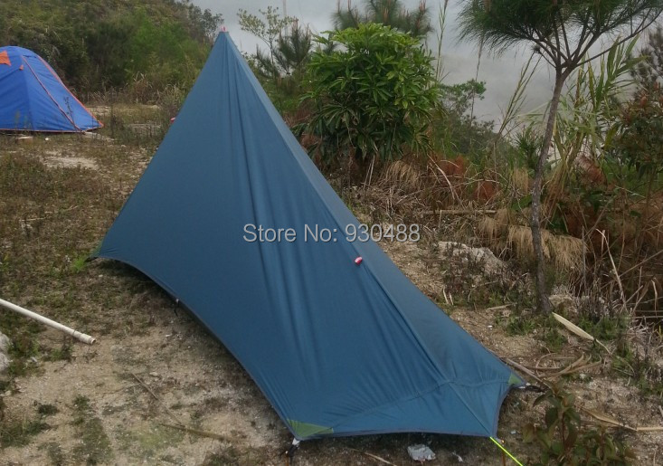 680g Ultralight 2 person trapezoid mountain tent without poles-in Tents from Sports u0026 Entertainment on Aliexpress.com | Alibaba Group & 680g Ultralight 2 person trapezoid mountain tent without poles-in ...