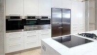 2017 Новый дизайн улучшенные мебель для кухни модульный кухонный блок современный кухонный шкаф производители