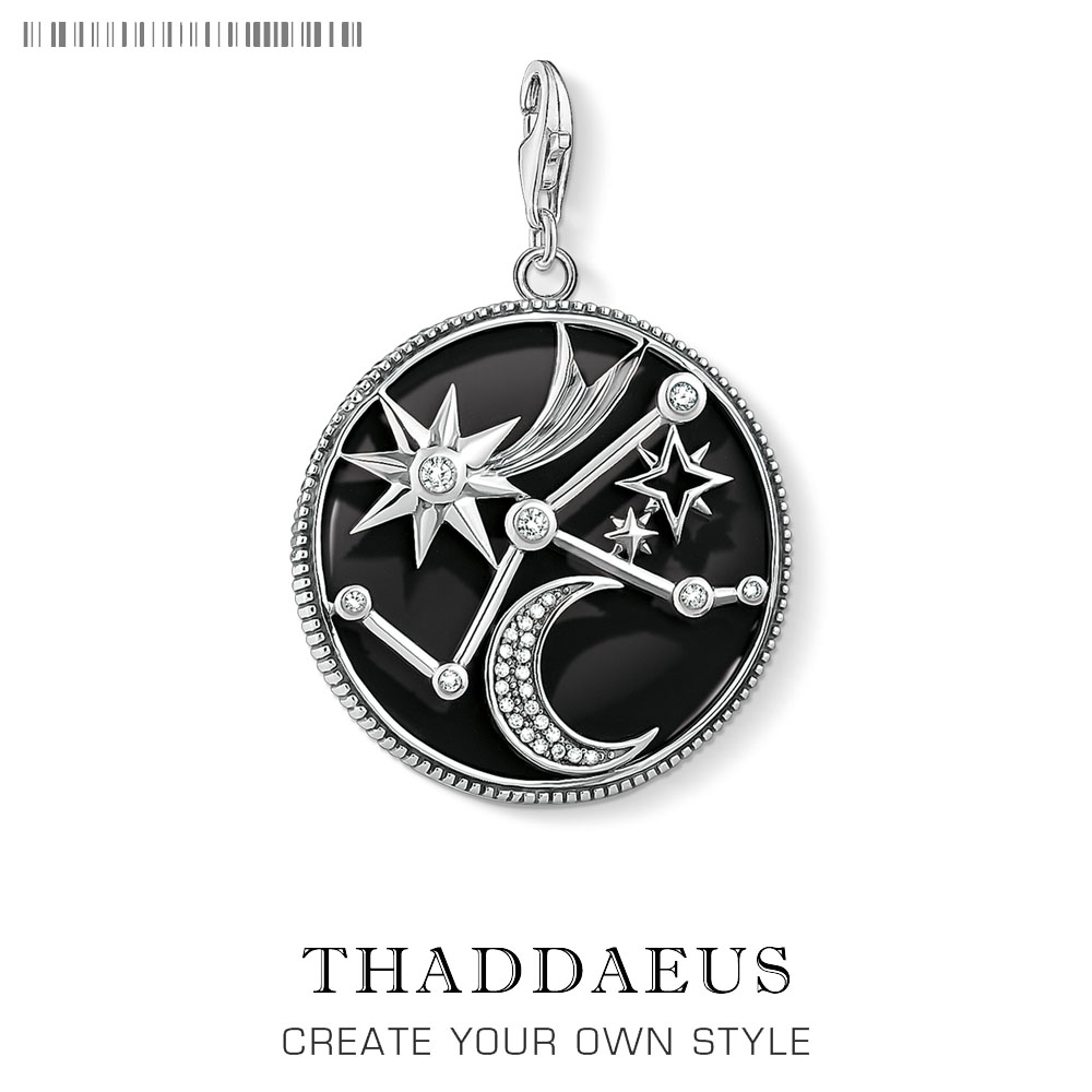 Charm Pendant Astro Disc,2019 Brand New Thomas Style Jewelry For Women Men Trendy Gift In 925 Sterling Silver Fit Bracelet
