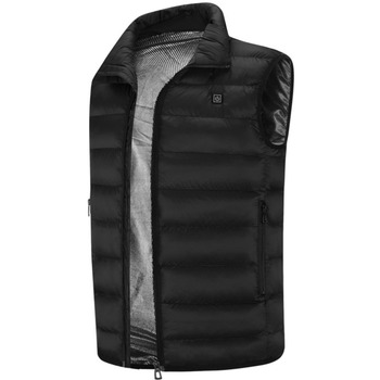 Men Electric Heater Heated Jacket Vest Waistcoat Woman Coat Feather Thermal Softshell Jacket Winter Warmer Heating Clothes Electric Heaters