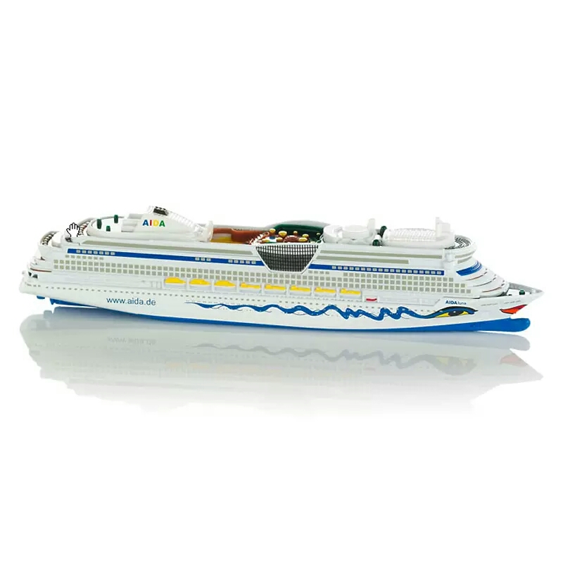 SIKU Die cast 1720 Aida luxury cruise Vessle model alloy Ship Model Collection Toys For Chlidren marine architecture