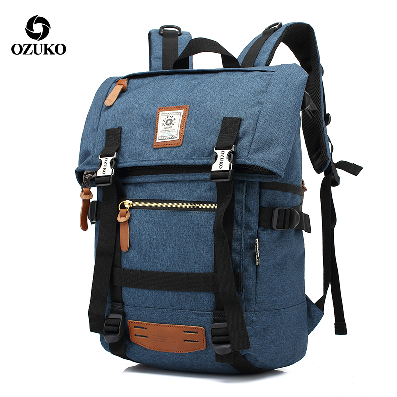 Men Backpack Outdoor Large capacity Travel Multifunction Backpack Men's Bags