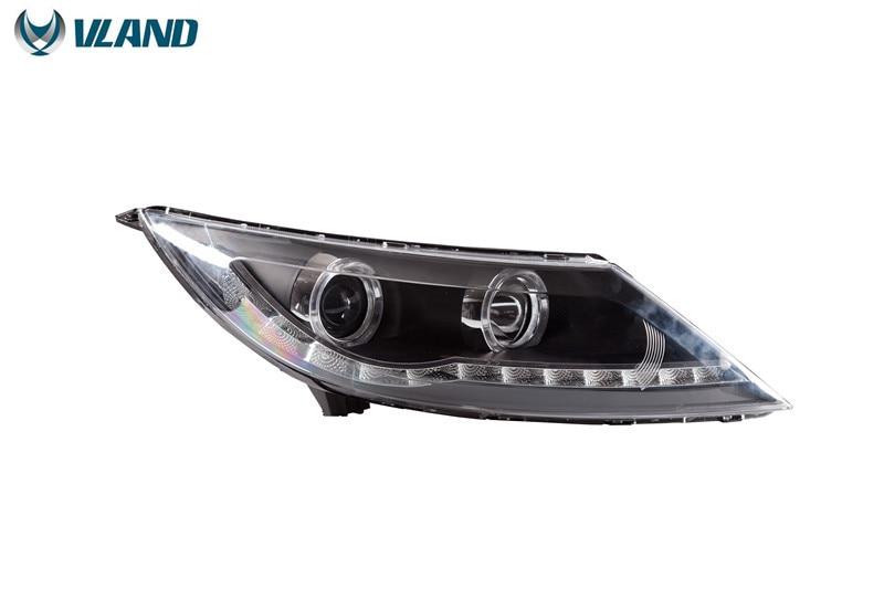 Бесплатная доставка для головной лампы автомобиля ВЛАНД для Киа Спортейдж Р 2012-2014 светодиодные фары H7 Ксеноновые лампы