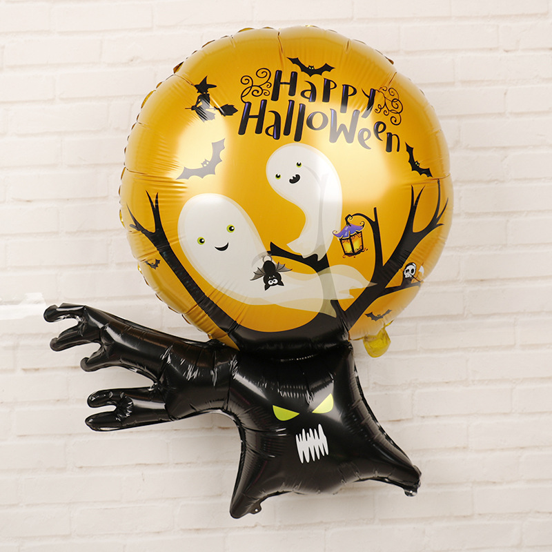 HTB1G whalGw3KVjSZFwq6zQ2FXaK - Halloween Party Decoration Balloons Halloween Witch Ghost Decoration Kids Favors Halloween Props Accessories Party Supplies