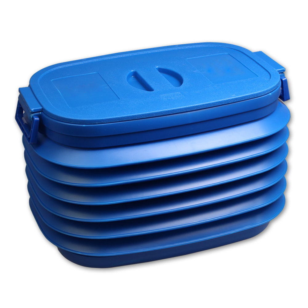 Tiptop New Car Trunk Foldable Rubbish Container Portable Plastic Water Barrel Organizer Box OCT28