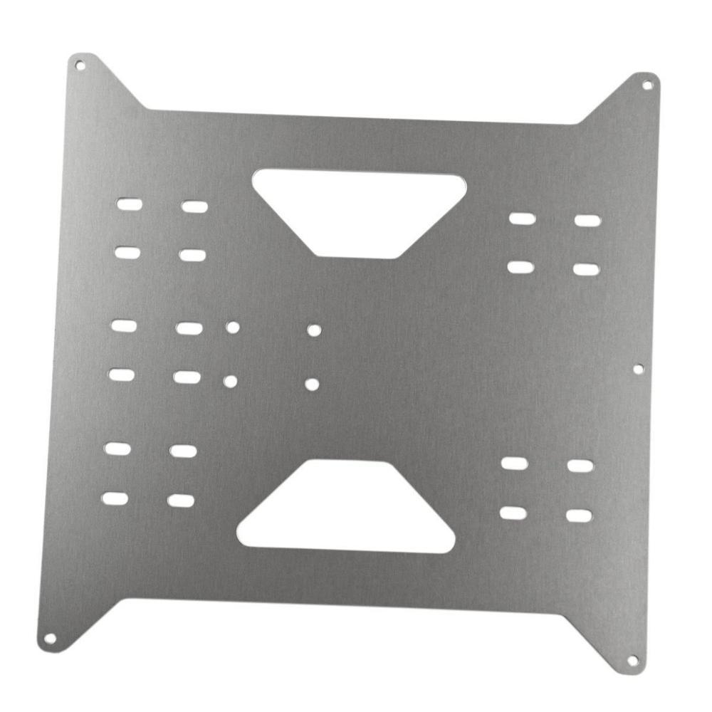 Prix pour Wanhao Mise À Niveau Y Plat De Chariot pour Wanhao Duplicateur i3/Monoprice Maker Sélectionner V1/V2/V2.1/Plus 3D imprimantes
