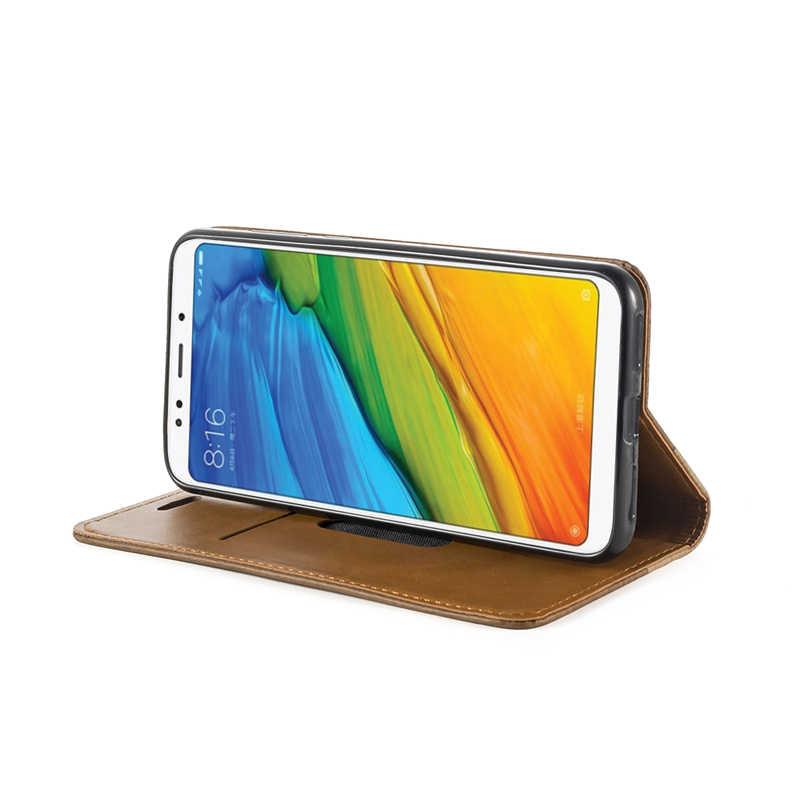 Чехол для телефона из ПУ кожи для Huawei Y5 2018 бизнес-чехол для Huawei Y5 Prime 2018 Honor 7 Чехол-книжка Чехол Мягкий силиконовый чехол на заднюю панель