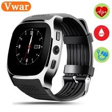 T8M Bluetooth Heart rate Smart Watch Blood pressure monitoring Fitness Tracker Smartwatch PK k88h GD19 GT 08 WristWatch