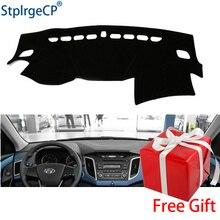 Per Hyundai IX25 Creta 2014-2018 cruscotto tappetino pad di Protezione Ombra Cuscino Pad interni sticker car styling accessori