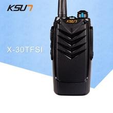 KSUN X-30TFSI Walkie Talkie 5W ruční přenosné rádio UHF 400-470MHz rádio šunky A0601A buxun x30