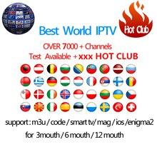 Hotclub IP ТВ подписки Android ТВ коробка + Европа Швеция, Франция, Италия Германия Великобритания xxxHotclub M3U Enigma2 Smart ТВ Mag ТВ коробка