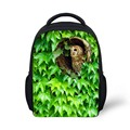 Cute Animal Owl Bird Printed Children Schoolbags Small Mochila Kids School Bag for Chid Kindergarten Book Bags Casual Travel Bag
