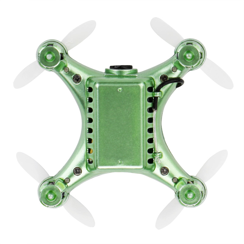 Mini RC Drone Q343 Headless Mode 4Axis Gyro 2.4GHz 6CH Quadcopter with 360 Degree Rollover Function One Key Return RC Helicopter