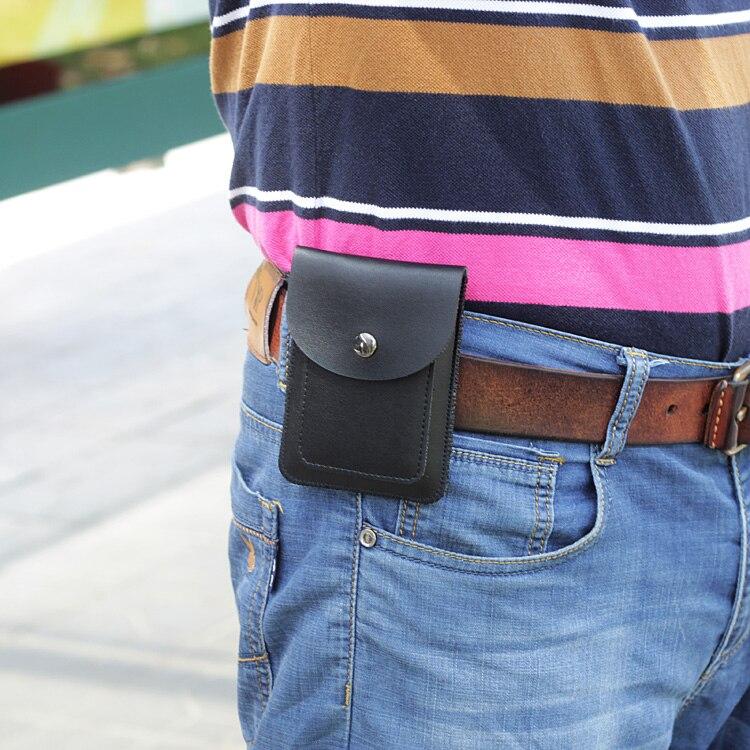 Mini sac de taille mince hommes petite poche de ceinture suspendus paquet de couverture de ceintureMini sac de taille mince hommes petite poche de ceinture suspendus paquet de couverture de ceinture