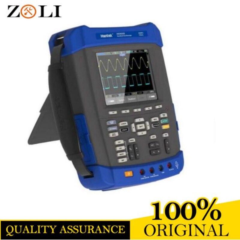 Oscilloscope 1GSa/s taux d'échantillonnage Hantek DSO8202E Grand 5.6 pouce TFT couleur LCD Écran DSO 8202E best de haute qualité vente en stock