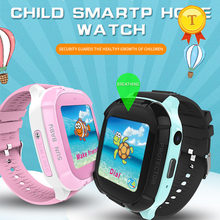 best selling IP67 waterproof children kids watch smart watch GPS positioning 420mah battery gps watch PK Q90 Q100 Q50 ds18(China)