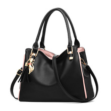 цены Women Messenger 2019 New Tide Female Top-handle Bag Girls Simple Shoulder Bags Women Handbags for Lady Totes Fashion Party Pack