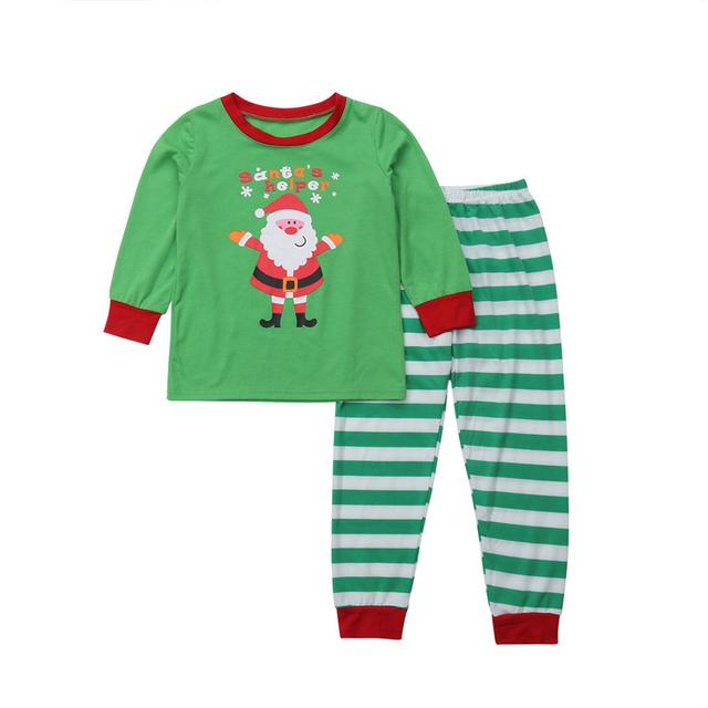 New Family Matching Clothes Christmas Pajamas Kids Clothing Sets Men Women Clothes Set Xmas Sleepwear Nightwear Baby Pajamas Set