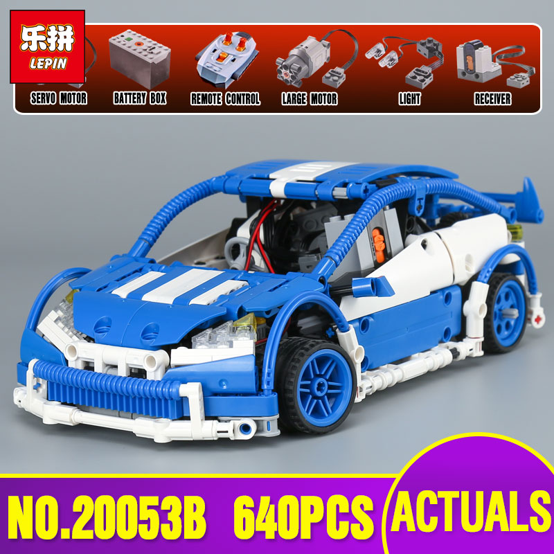 Lepin 20053B Genuine Technic Series The Hatchback Type R Set MOC-6604 Building Blocks Bricks Educational Toys new year Gifts lepin 20053 genuine new technic series the hatchback type r set moc 6604 building blocks bricks educational toys boy gifts model