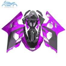 Verkleidungen für SUZUKI GSXR600 R750 2004 2005 ABS sport verkleidung kit 04 05 GSXR 750 GSXR 600 K4 K5 lila SZ24