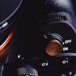 Image 4 - Мягкая деревянная кнопка спуска затвора с наклейкой для Sony A9 A7m3 A7RIII, деревянная кнопка спуска затвора с наклейкой для Sony A9 A7m3 A7RIII, ILCE 7RM3 A7R MKIII