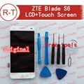 ZTE Blade S6 жк-экран Высокого Качества Жк-дисплей + Сенсорный экран 1280x720 HD 5.0 дюймов замена для ZTE Blade S6 Мобильного Телефона белый