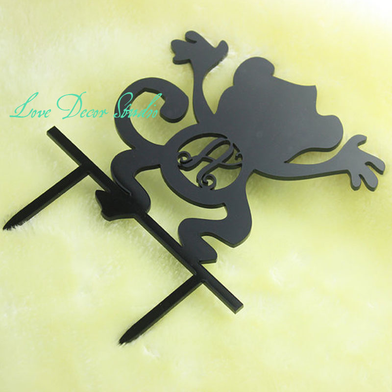 custom name happy birthday cake topper monkey birthday banner kids