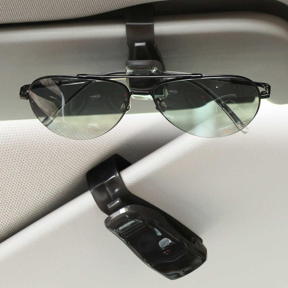 ABS Automatique Lunettes de soleil Clip Accessoires de voiture Pour Audi A1 A3 8 P 8l 8 v A4 B5 B6 B7 B8 A5 A6 C5 C6 4F 4B Q3 Q5 Q7 S3 S4 S5