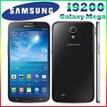 Original samsung galaxy mega i9205 i9200 teléfono celular e310 6.3 pulgadas'' ultra slim wi-fi de doble núcleo de 8mp android os 8 gb reformado