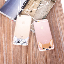 Cute Cat & Dog Phone Case For iPhone