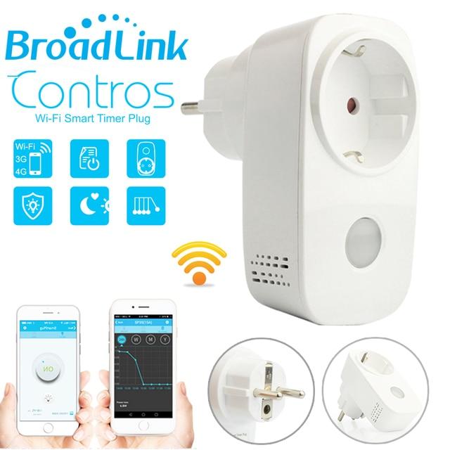 Broadlink Sp3,SP3S Power Meter Monitor,16A wifi plug outlet,Smart ...
