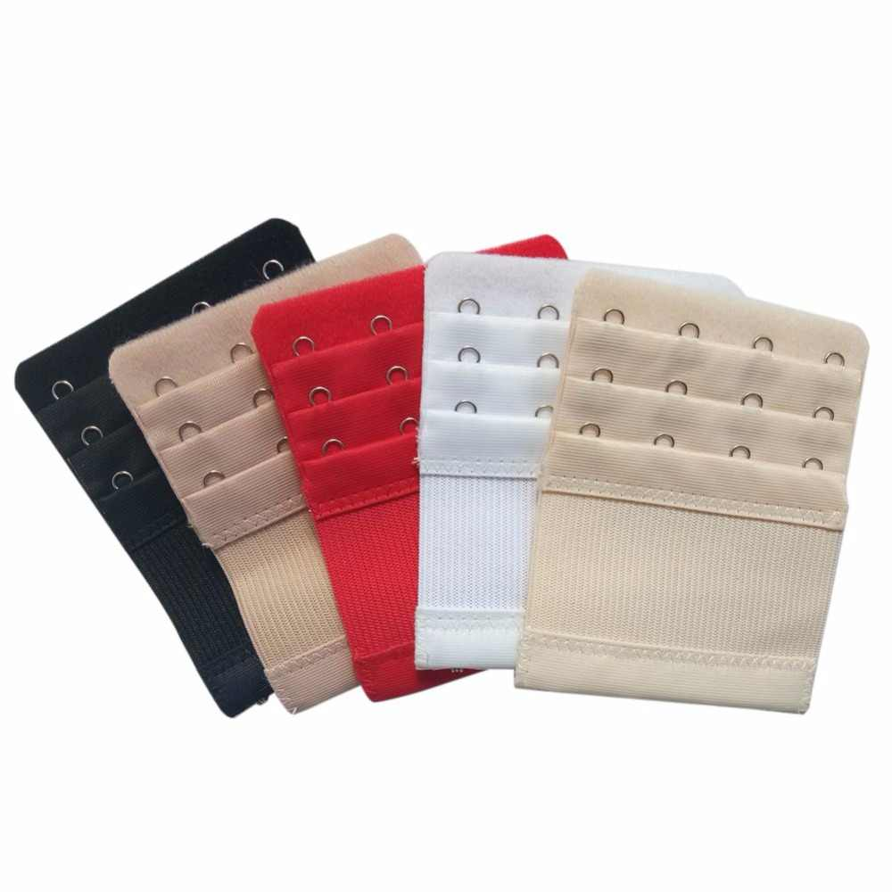 Bra Extenders Strap Buckle Extension 3 Rows 4 Hooks Ladies Bra Extender Extensions Straps Underwear 5 Colors