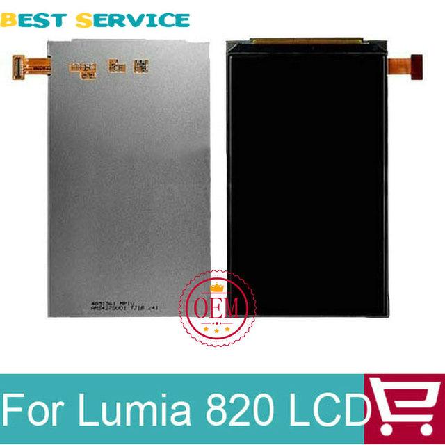 100% novo testado para nokia lumia 820 screen display lcd + ferramentas frete grátis