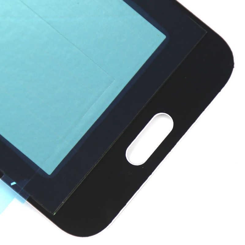 الصف شاشات lcd لسامسونج J2 2015 J200 J200Y J200F شاشة الكريستال السائل AMOLED مع اللمس مجموعة رقمية لسامسونج J2 2015 شاشة