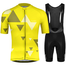 2019 RUNCHITA ciclismo short sleeve cycling jersey kit ropa mtb de Mens pro bike Maillot Culotte clothing