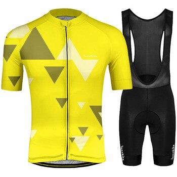 Runkita-kit de camisetas de ciclismo para hombre, ropa de ciclismo profesional, Culotte, 2019