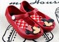 Zapatos de Bebé Sandalias de La Muchacha de Minnie Mouse Dibujos Animados Minnie Zapato Niño Playa Verano Jalea Sandalia Del Zapato Infantil 1-3Y