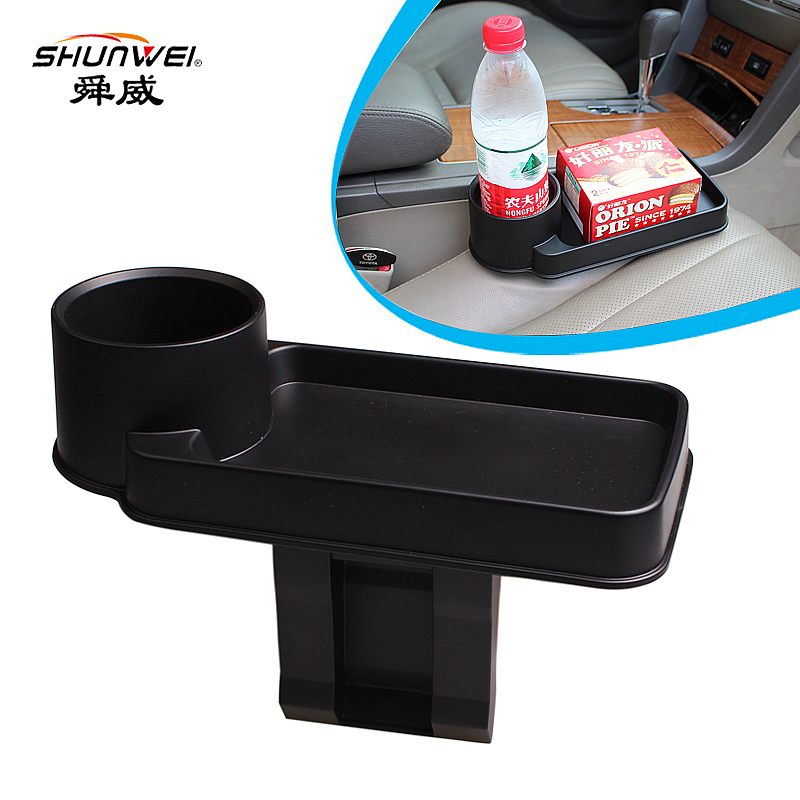 2017 Car Auto Cup Holder Portable Multifunction Vehicle Seat Cup Cell Phone Drinks Holder Glove Box