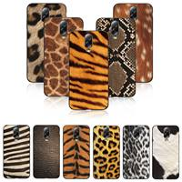Luxury Women Leopard Sexy Soft TPU Rubber Case Shockproof Cover For sumsung C8 C9 Note8